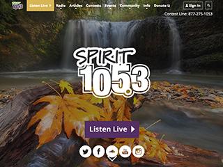 Spirit 105.3 Redesign